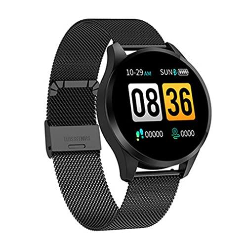FZXL Q9 Smart Watch Pedometer Herzfrequenz Blutdruck Schlafüberwachungsinformationen Erinnerung Sport Gesundheit Mode Uhr,B