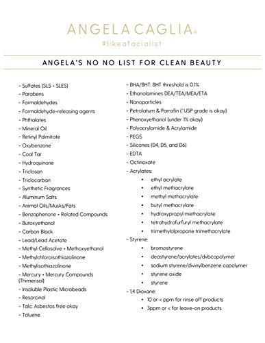 Angela Caglia - Natural Detox Serum   Clean Retinol Alternative (1 fl oz   30 ml)