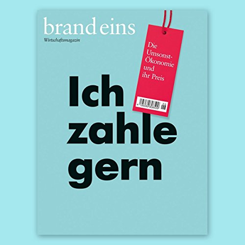 brand eins audio: Ich zahle gern audiobook cover art