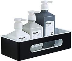 Sayayo Shower Caddy Shower Basket Wall Mounted, Shower Shelf Heavy Duty Bathroom Storage in Black and White, No Drilling...