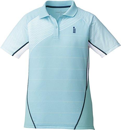 ゴーセン(GOSEN) レディース バドミントン ソフトテニス ゲームシャツ T1701 ミント(40) LL