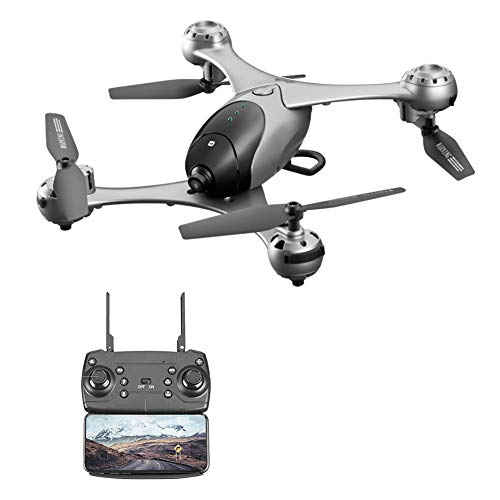 SMRC M6 4K Video RC Drone HD Gimbal Doble cámaras WiFi FPV Quadcopter App Control Remoto Hovering Gravity Object Tracking Mode