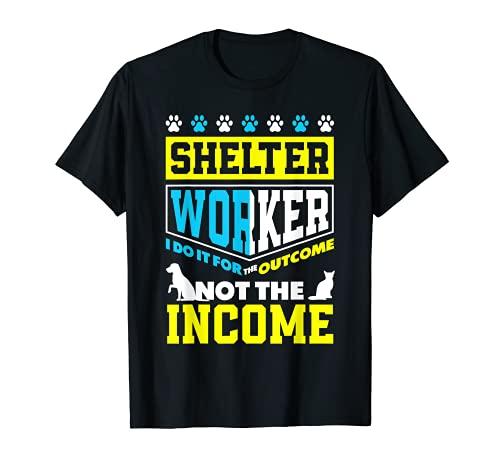 Animal Rescue Pet Adoption Shelter Worker T-Shirt