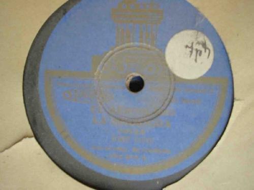 Antiguo Disco Pizarra - Old Slate Disc : JOSE OTO : El día que yo nací; La Fematera; El aeroplano; La segadora - Jotas