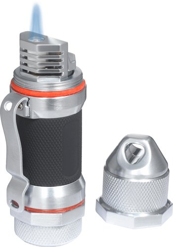 Visol Storm High Altitude Wind Resistant Lighter, Chrome Black