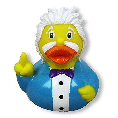 Lilalu 8,5cm Einstein Ente Spielzeug (Mehrfarbig)