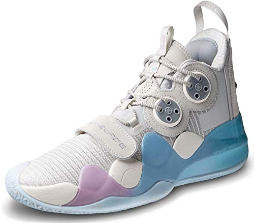 LI-NING Wow 8 'Cotton Candy' Wade Men Professional Basketball Shoes Boom Technology Sports Shoes Sneakers ABAP113-9 US 9.5