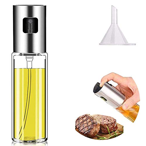 Olive Oil Sprayer , Oil Spray for Cooking , Oil Spray Bottle Oil Dispenser Mister for Cooking , BBQ, Salad, Baking, Roasting, Grilling