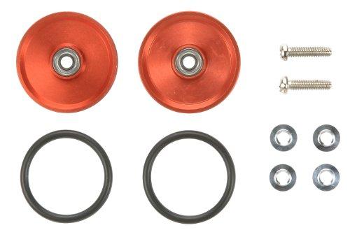 Mini 4wd - ROTELLE ALLU.19mm ROSSE Lenticolari
