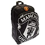 Manchester United Fc - Authentic Epl Quality Black Backpack