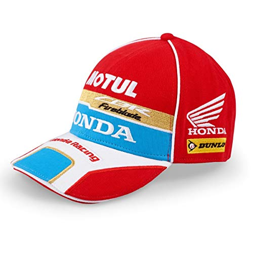 MotoCircuitPartes Paddock Pitline Motorcycle Racing Team H/ónda Racing Cap