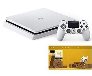 PlayStation 4 グレイシャー・ホワイト 500GB (CUH-2200AB02)  【特典】 オリジナルカスタムテーマ (配信)