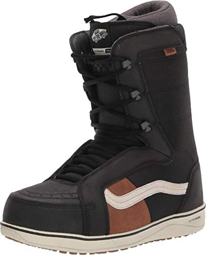 Vans Hi-Standard Pro Men's Snowboard Boots, Black/Off White, (10.5 D US)