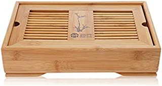 Yeme Bamboo Gongfu Tea Table Serving Tray 11.2