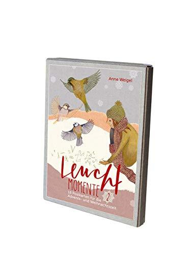 Leuchtmomente 2 - Postkartenbox. 18 Postkarten Für Die Advents- Und Weihnachtszeit