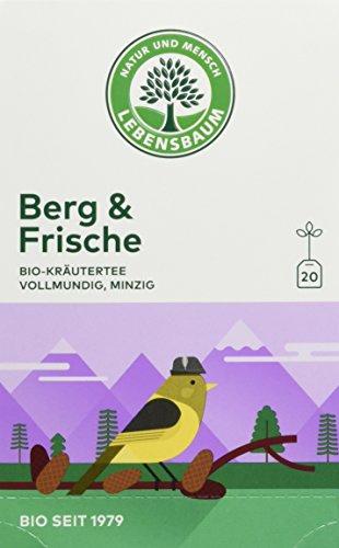 Lebensbaum Bio Kräutertee Berg und Frische, 3er Pack (3 x 40 g) 40 g