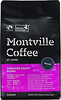 MONTVILLE COFFEE Sunshine Coast Blend Coffee Beans 250 g,  250 g