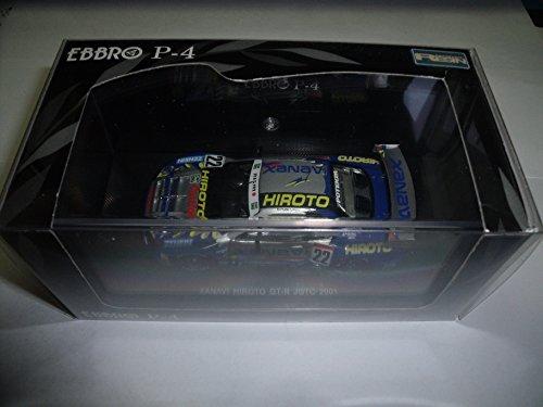 P4 1/43 JGTC 2001 XANAVI HIROTO GT-R No22 (japan import)