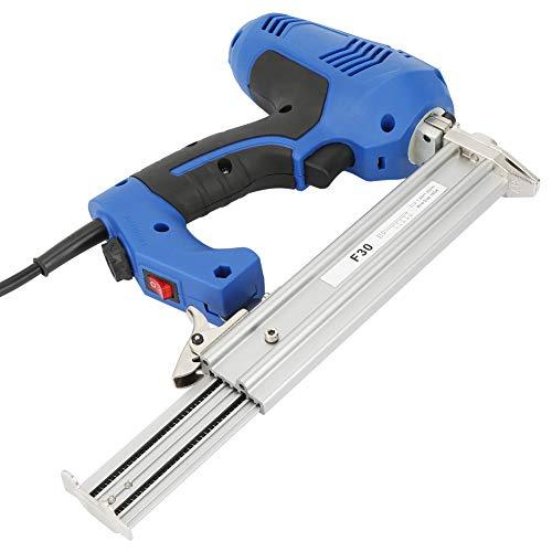 Changor Pistola de Clavos eléctrica, clavadora Brad sin Cuerda Ajustable, plástico Duro de alúmina Fabricado 21 cm * 23 cm