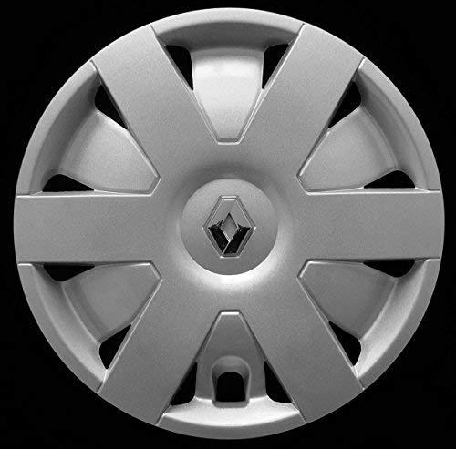 AUTOFORNITURE ITALIA - Juego de 4 tapacubos de 14 Pulgadas, Logotipo Cromado