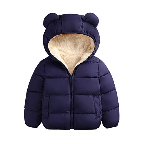 BFUSTYLE Winter Coats for Kids with Hood Light Puffer Jacket for Baby Girls Boys
