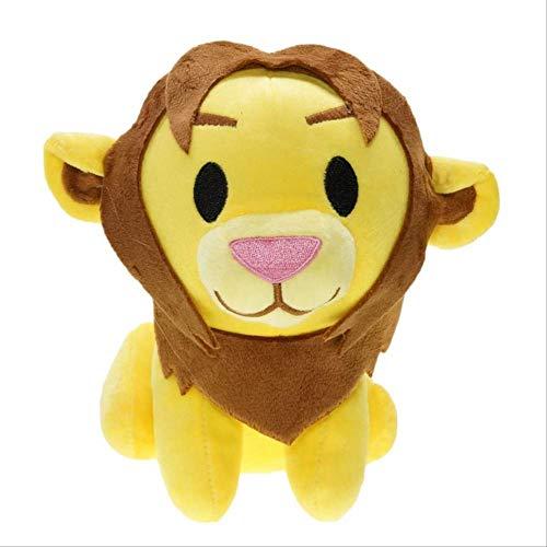 ZY Peluches, 20cm Regalos de Dibujos Animados Simba Juguetes de Peluche Relleno Animado El Rey León muñecas for niños Los niños de cumpleaños 1 LOLDF1 (Color : 1)