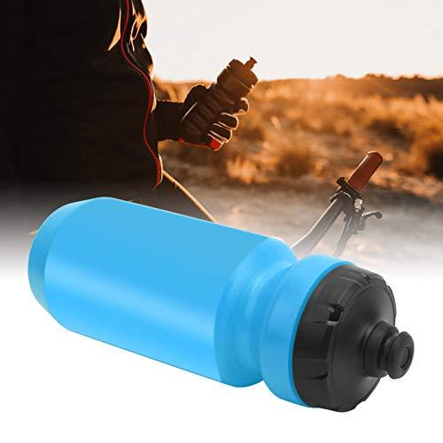 jadenzhou Botella de Agua para Bicicletas, Botella de Agua para Deportes Botella de Agua para Bicicletas para Bicicletas de montaña para Bicicletas eléctricas(Blue)
