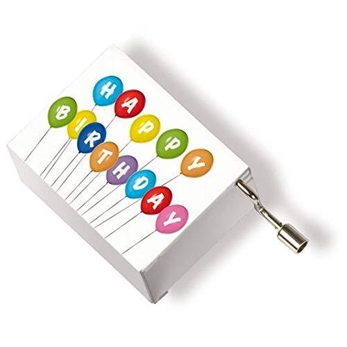 Music Box Happy Birthday - ornament