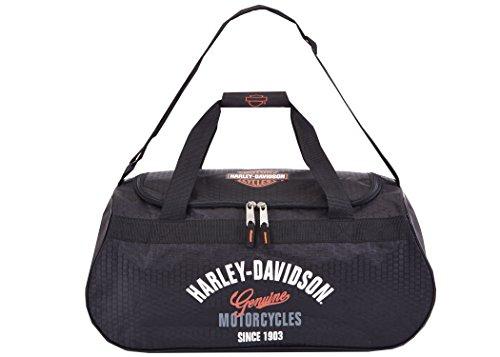 Harley Davidson Logo Sporttasche, schwarz (Schwarz) - 99418 Black