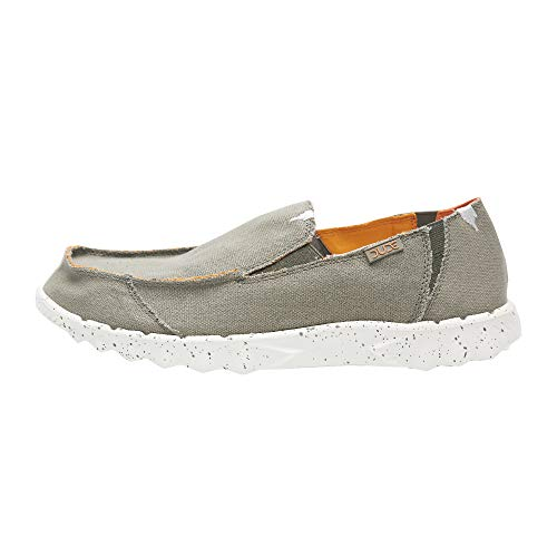 Dude Shoes Men Es Farty Funk Sage Orange UK9 EU43