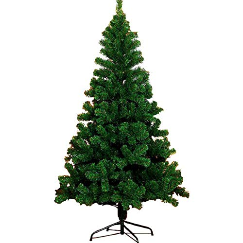 UYASDASFAFGS Premium Pine kerstboom, groen, volledige kunstkerstboom met metalen standaard, multifunctioneel, kerstboom, festival, thuisdecoratie