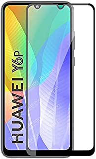 Tempered Glass For Huawei Y6p Full Glue Screen Protector - Black Frame (1 Pack)
