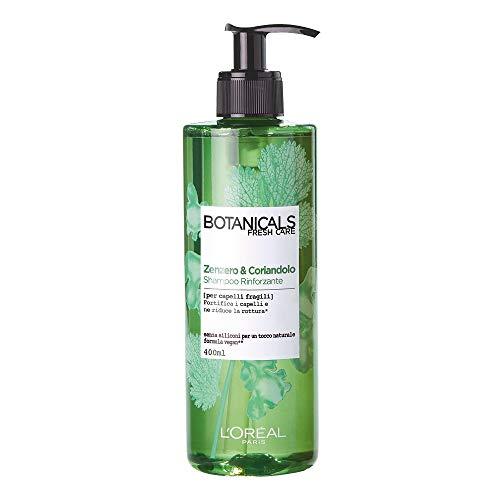 L'Oréal Paris Botanicals Zenzero e Coriandolo Fonte di Forza Shampoo per Capelli Fragili, 400 ml