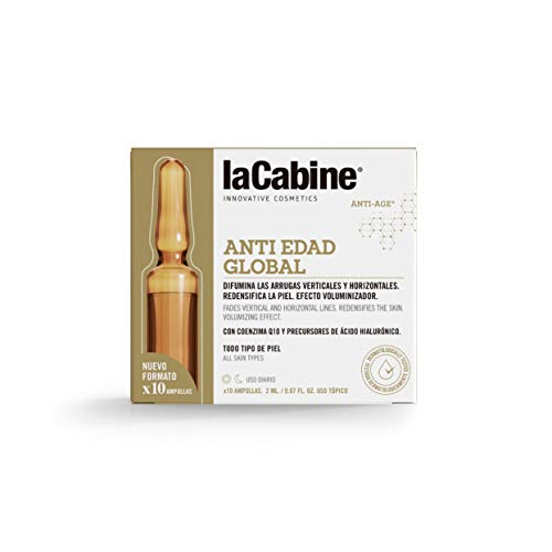 La Cabine ampollas antiedad 10 x 2 ml/ 1 Unidad