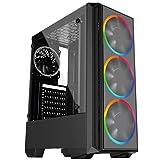 PC Gamer Intel 10a Geração Core i3 10100F, Geforce GTX 1050 Ti 4GB, 8GB DDR4 2666MHZ, HD 1TB, 500W, Skill PCX