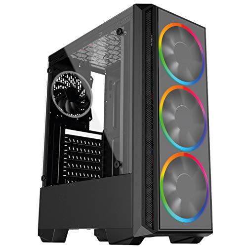 PC Gamer Intel 10a Geração Core i5 10400F, Geforce GTX 1050 Ti 4GB, 8GB DDR4 2666MHZ, SSD 480GB, 500W, Skill PCX