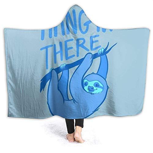 Dor675ser 40 x 52 Inch Hooded Dekens Extra Zachte Fleece Thuis Deken, Volwassen Kind Gooi Wrap voor Bed Couch Stoel WoonkamerLeuke Rubber Eendje met Zonnebril Gooi Draagbare Knuffel