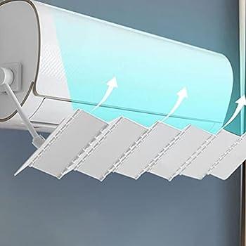 IMIKEYA Climatiseur Déflecteur De Vent Angle Réglable De Ventilation Déflecteur De Vent Air Conditionné Coup Chicane Bouclier Vent Guide Outil