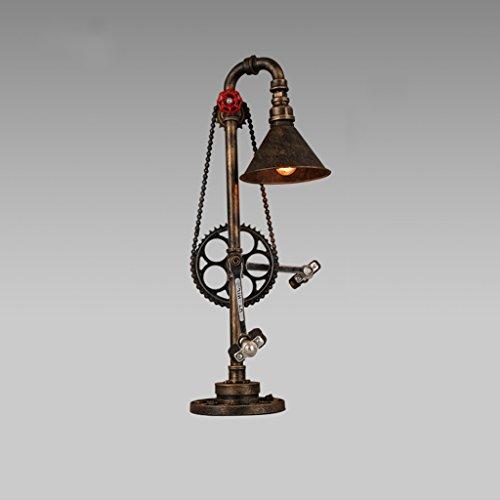 SHAOHUAYING vintage lamp ijzeren industrie wind creatieve restaurant woonkamer studie gepersonaliseerde slaapkamer nachtkastje metalen ketting waterpijp lamp