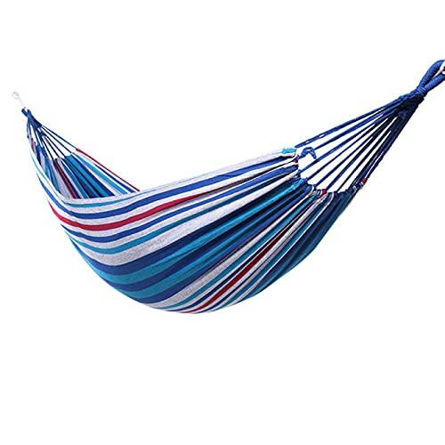 Aiong Hamaca, Hamaca Ultraligera de Viaje para Acampar, arcoíris, Ocio, jardín al Aire Libre, Columpio Colgante