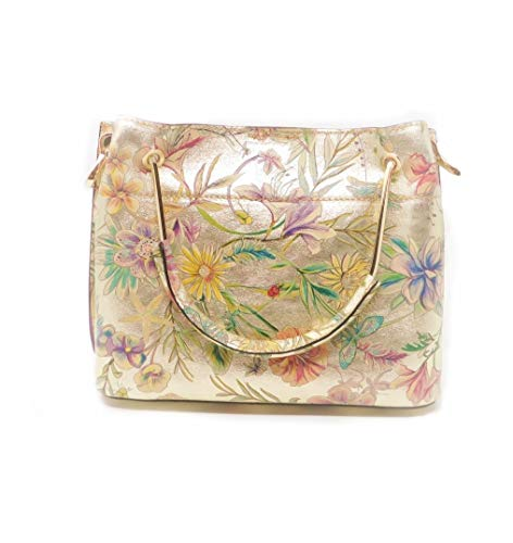 Luca Lorenzo Damen Handtasche Henkeltasche handmade in Italy