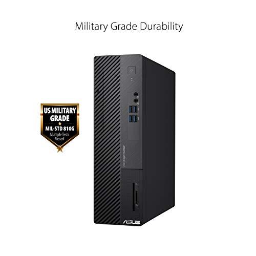 ASUS ExpertCenter D500SA Small Form Factor Desktop PC, Intel Core i5-10400, 8GB DDR4 RAM, 256GB PCIe SSD, Wi-Fi 6, TPM, Windows 10 Professional, Black, D500SA-EB501