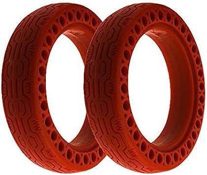 Flycoo2 - Neumáticos de repuesto para Xiaomi M365 / Pro patinete eléctrico 8 1/2 x 2 8,5 cm, color sólido