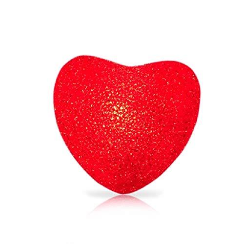 WXIFEID 16cm Rotes Herz Indoor Dekorative LED-Nachtlicht Romantische 3D-Liebes-Herz-Valentinstag Hochzeit Dekoration