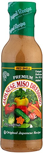 Red Shell Miso Dressing 12 Fl. oz. (Pack of 3)