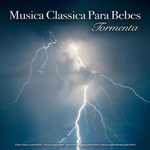 Piano Sonata - Mozart - Piano clásico y sonidos de tormenta - Música para dormir para bebés - Música clásica para dormir