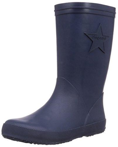Bisgaard Unisex-Kinder Rubber Boot Star Gummistiefel, Blau (20 Blue), 21 EU