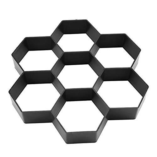 Betonform-1Pc DIY Garten-Weg-Hersteller-Form Beton Stepping Stone Zement Pflaster Mold Brick