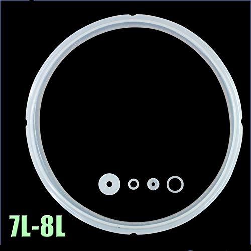 LSE&snelkookpan, accessoires, elektrische druk, zeaal, 7L-8L, Rice Cooker schort 26 cm, silicone dekselafdichting, afdekking van lederen ring