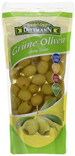 Gourmet Oliven grün ohne Stein  485g Beutel